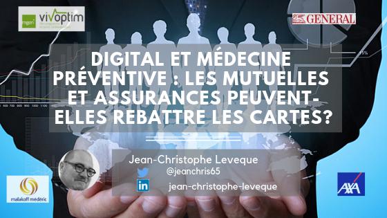 Digital et médecine préventive : les Mutuelles et Assurances peuvent-elles rebattre les cartes?